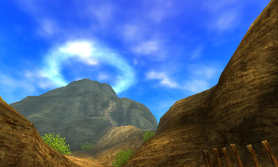 Death Mountain from Legend of Zelda: Orcarina of Time.